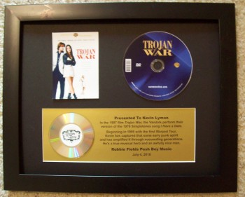 Image for CD / DVD Custom Display with plaque