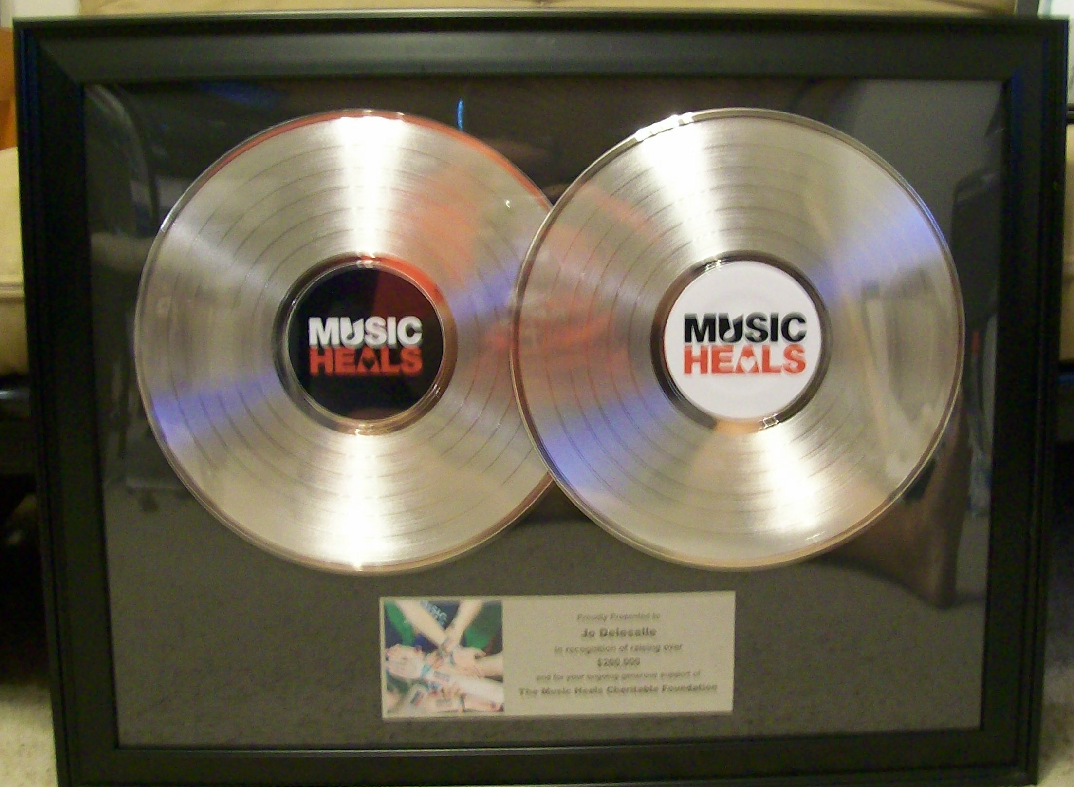 Image for Double LP Platinum Display