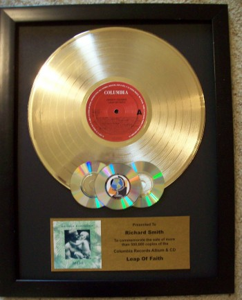 Image for Gold LP with CD's Custom Award