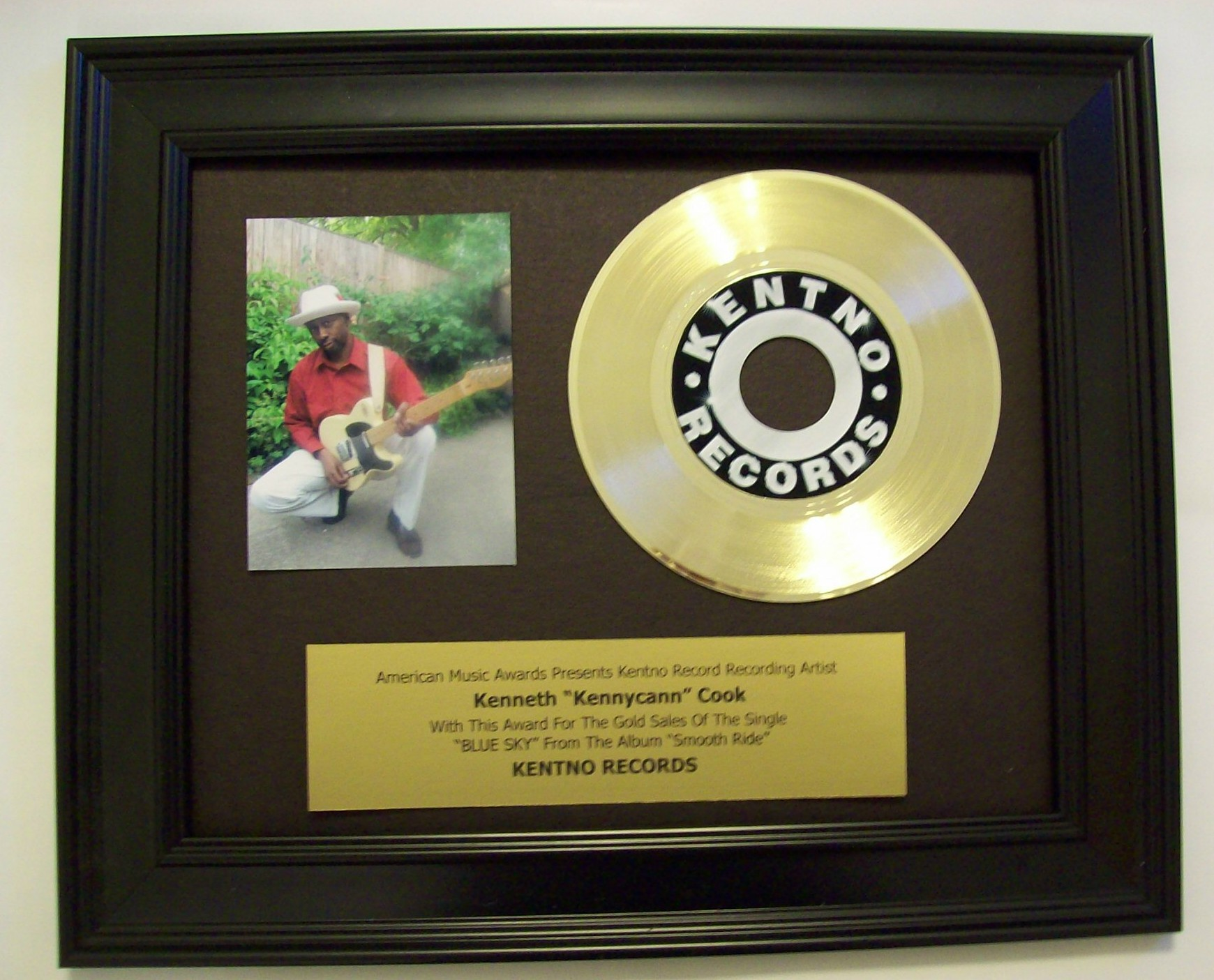 Image for Gold 45rpm Award/Trophy