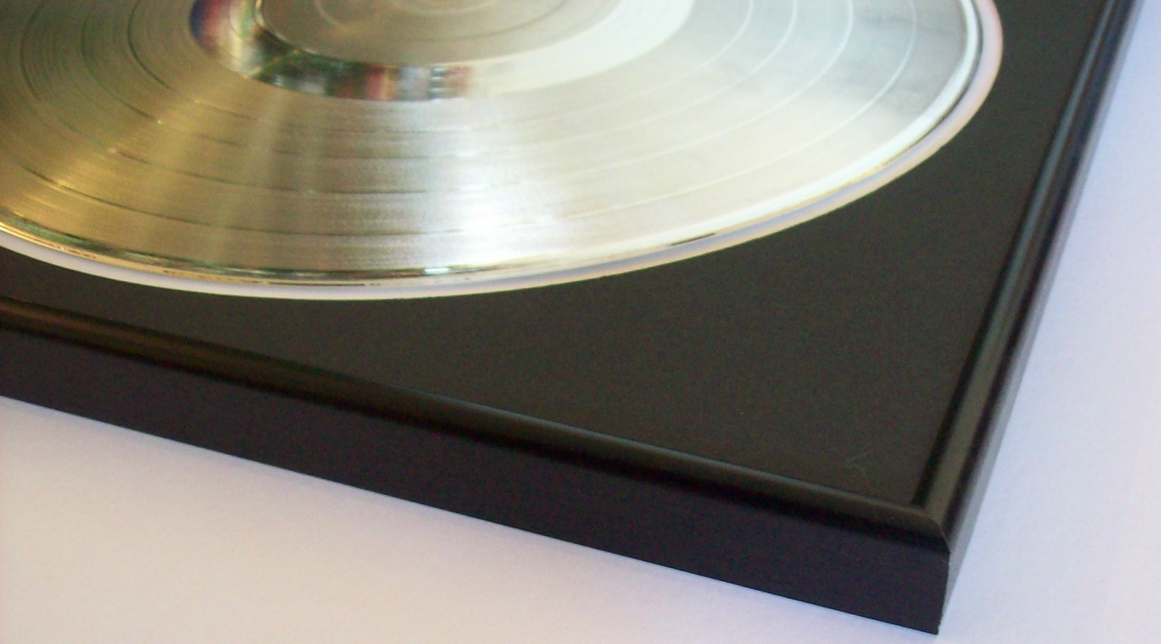 Image for Platinum/Silver Plated LP Trophy